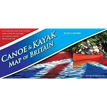 Canoe & Kayak Map of Britain