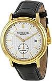 Raymond Weil 2838-PC-65001 Automatic Stainless Steel Case Black Calfskin Anti-Reflective Sapphire Men's Watch