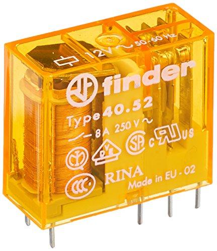 Finder 40.52.8.012.0000 Steck/Printrelais 12 V AC 2 W 8 A -