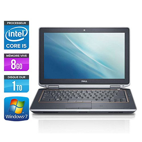 Dell Latitude E632013.3inch Laptop–Grey (Intel Core i52520M/2.5GHz, 8GB RAM, 1TB Hard Drive, DVD ReWriter, Webcam, WiFi, Windows 7Professional)