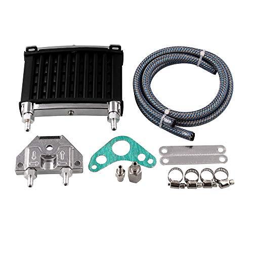 �hler Kühler Kit für 50cc 110cc 125cc 140cc 150cc ATV PIT PRO Trail Dirt Universal MB-OCC041 ()