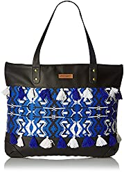 Kanvas Katha Womens Handbag (Black) (KKHZTW001)