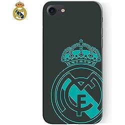 Carcasa Funda IPhone 7 / iPhone 8 Licencia Fútbol Real Madrid Verde Escudo