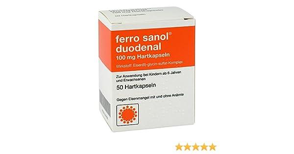 Ferro sanol duodenal verträglichkeit