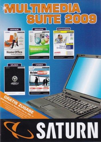 9 OEM (Corel Home Office, Corel MediaOne Starter, AAG Steuer-Spar-Erklärung 2009, Tobit ClinInc.fx lite, S.A.D. MyTube Recorder) (Office Starter)