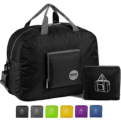 WANDF Foldable Travel Duffel Bag Super Lightweight