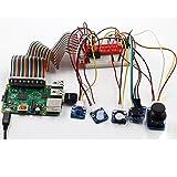 SunFounder 37 Module Sensor Kit V2.0 für Raspberry Pi 3, 2 und RPi Model B+, 40-Pin GPIO Extension Board Jump wires (MEHRWEG)