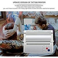 LasVogos Transferencia del Tatuaje Máquina Impresora de la copiadora de la Plantilla térmica Fabricante de la UE/Enchufe de EE.UU.