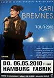 BREMNES, KARI - 2010 - Konzertplakat - In Concert - Ly - Tourposter - Hamburg