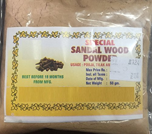 Powder Pack (Royal Khadi Special Sandalwood Powder For Face pack, Worship & Auspicious occasions (50 Grams))