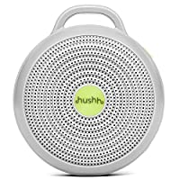 Marpac Hushh For Baby, Portable White Noise Sound Machine, Electronic, Gray