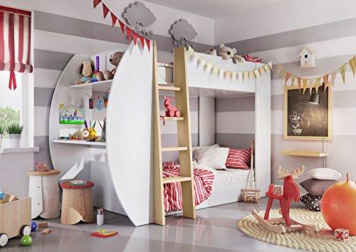 Etagenbett Erni : Rot etagenbetten und weitere hoch günstig