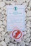 Seepferdchen Abzeichen + Urkunde Frühschwimmer Stoffabzeichen ® Erlebe Wasser