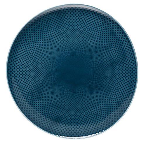 Rosenthal - Junto - Ocean Blue - Teller/Speiseteller/Essteller - flach - Ø 32 cm - Porzellan Ocean Blue Teller