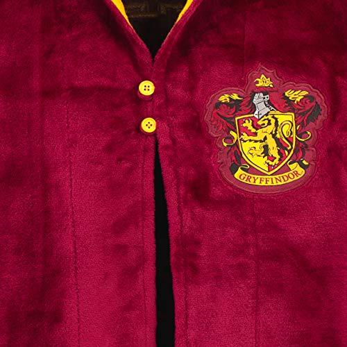 51uG1j8a32L - Harry Potter - Bata para niños - Hogwarts Rojo 12-13 Años
