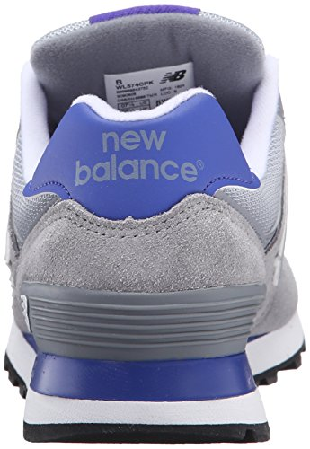 New Balance Damen Wl574cpk Laufschuhe Mehrfarbig (Grey/Purple 059Grey/Purple 059)