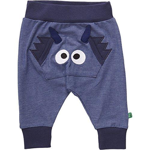 Fred's World by Green Cotton Dragon Pants, Pantalones Unisex bebé, Azul (Denim 019402601), 92 cm