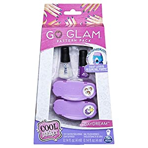 Spin Master Cool Maker GoGlam Nail Fashion Pack - Maquillaje de Juguete (Nail Polish Set, Rosa, Púrpura, Femenino, 8 año(s), China, 140 g)