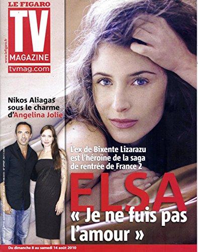 TV Magazine N20531: ELSA/ ALIAGAS/ JOLIE/ MORINI-BOSC/HULOT/ CHANEAC, BOROTRA, KEIM, REALI&CHAUVIN