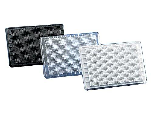 Mikrotiterplatten BRANDplates, 1536-well, pureGrade?, PS, transparent, Standard, F-Boden, unsteril
