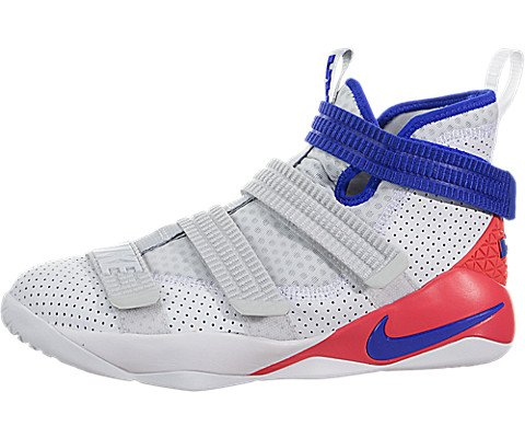 Nike Lebron Soldier Xi SFG (Kids) White/Racer Blue-Infrared Size 6 US Youth