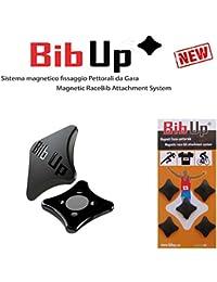 BIBUP 3.0 -- sistema magnético para la fijación del número de carrera (NEGRO)
