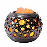 Sal de lámpara/Himalaya de cristal de sal/Anion reinigende Aire/creativa lámpara de mesa/dormitorio Bedside Warm Light Night Light