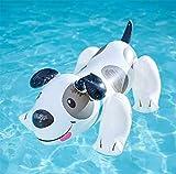 Dalmatiner Schwimmende Aufblasbare Schwimmende Bett Schwimmende Liegen Außenpool Wesentlich Geeignet Für Spielplatz Strand Urlaubsparty (42 In X 27 In)