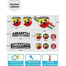 Pegatina Adhesivo Sticker ADESIVO AUFKLEBER Decals AUTOCOLLANTS Abarth Vinilo Laminado Coche Ref 1