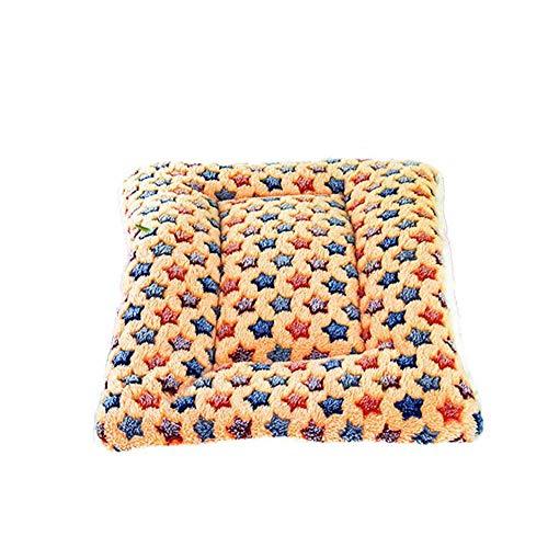 Heimtierbedarf Zwinger warm waschbar Haustier Nest Zwinger klein und mittelgroß Zwinger Haustier Bett Katzenstreu Katzenhaus waschbar vier Jahreszeiten zur Verfügung (Farbe : Pink, größe : M)