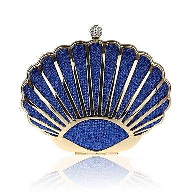 WZW Donna PU (Poliuretano) Formale / Serata/evento / Matrimonio Borsa da sera Multicolore . silver blue