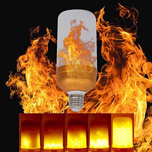 Flamme Lampe brennendes Licht blinkende Effekt Lampe Vintage Lampe LED Flamme Effekt Glühbirne E27 Birne, Innendekoration, Urlaub Dekoration AAczhi