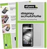 Gigaset GS270 Plus Schutzfolie - 2x dipos Displayschutzfolie Folie matt