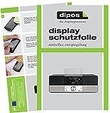 dipos I 3X Schutzfolie matt passend für TechniSat Digitradio 360 CD IR Folie Displayschutzfolie