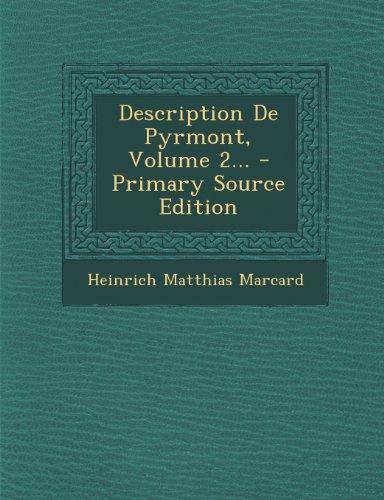 Description De Pyrmont, Volume 2... - Primary Source Edition