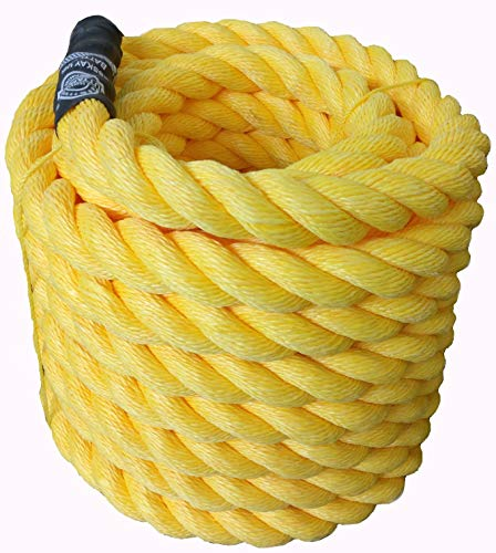 ESSKAY UTTAM Rope Long Gym Exercise 1.5Inch Thick/60 Feet (18Mtrs)