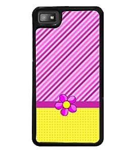 Fiobs Designer Back Case Cover for BlackBerry Z10 (jaipur rajasthan african america cross pattern)