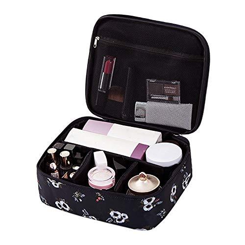 TDFGCR Reisekosmetiktasche tragbare Aufbewahrungstasche tragbare Trompete Mini Shampoo Bag-Navy C