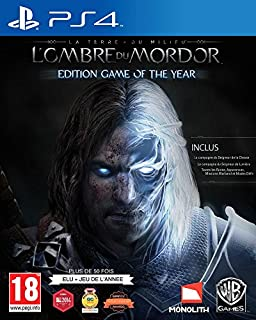 La Terre du Milieu : l'ombre du Mordor - édition jeu de l'année (B00W0C1JKQ) | Amazon price tracker / tracking, Amazon price history charts, Amazon price watches, Amazon price drop alerts