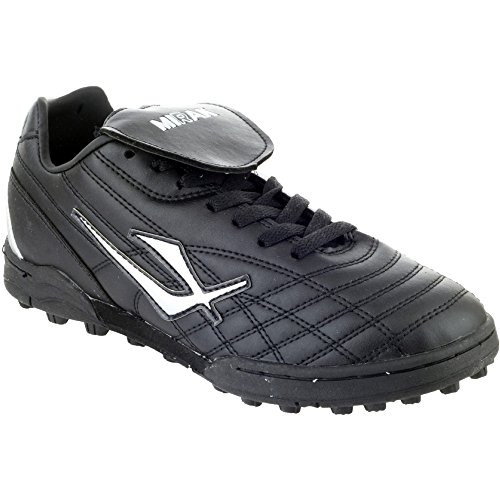 Mirak Boys Forward Astro Turf Football Rugby Sports Boot Black Noir - Noir