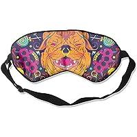 Comfortable Sleep Eyes Masks Amazing Pug Pattern Sleeping Mask For Travelling, Night Noon Nap, Mediation Or Yoga preisvergleich bei billige-tabletten.eu