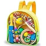 Strumenti Musicali per Bambini, Strumento Musicale Giocattoli, Set Musicale Bambina in Legno, Testato con EN71, CPSIA immagine