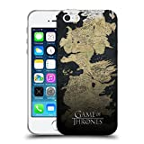 Ufficiale HBO Game of Thrones Mappa di Westeros Disegni Chiave Cover Morbida in Gel per iPhone 5 iPhone 5s iPhone SE