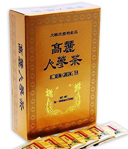 Korean Ginseng Tea 3g x 50 Bags Energy Drink Instant-Tee