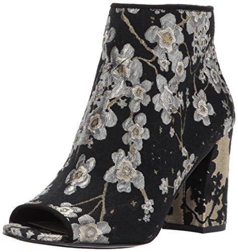 Nine West Damen Fabric Haywood-Gewebe, Multi/Black, 38.5 EU Nine West Peep Toe Pumps