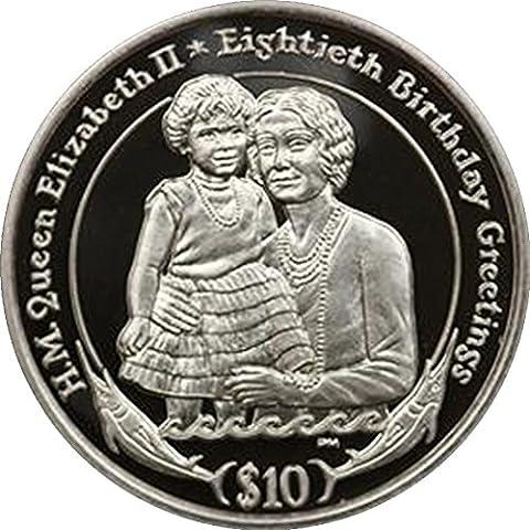 Îles vierges britanniques Reine Elizabeth II 2006Argent Proof $10pièce de