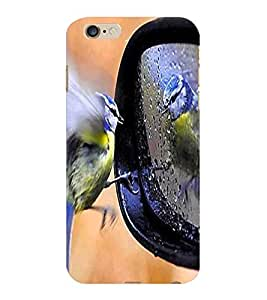 ColourCraft Lovely Bird Design Back Case Cover for APPLE IPHONE 6S PLUS