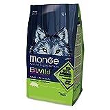 Monge Bwild Cane Adult Cinghiale kg. 2 Cibo Secco Senza Cereali per Cani, Multicolore, Unica
