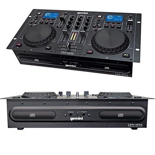 Gemini cdm4000Player Combo PROFI CD/USB + Verstärker ax-1000MyDJ (Gemini Cd-player)