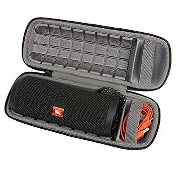Travel Case For Jbl Flip 4 3 Bluetooth Portable Stereo Speaker By Co2crea (Black Hard Case) 0